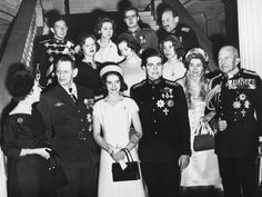 The royal engagement between Princess Anne-Marie of Denmark and Prince Constantine of Greece in July of 1964.