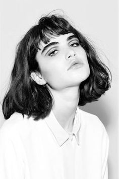 Short cut and bold brows #shorthairstyleswithbangs