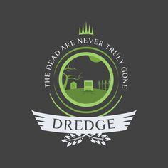 Dredge shirt design for magic the gathering #mtg #shirt #design #humor #funny #witty #threadless #magicthegathering #epicupgrades #magic #dredge