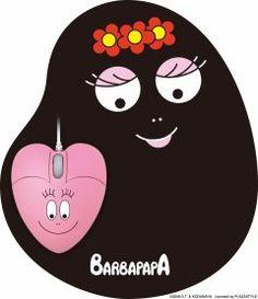 barbapapa mouse & pad