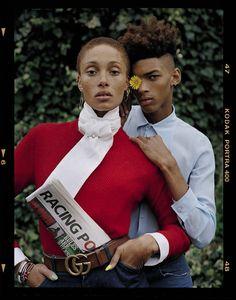Adwoa Aboah by Tim Walker for Vogue Italia December 2015