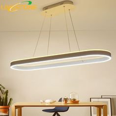 Modern Led Chandelier Lustre Lamp Hanging Lighting White Hanglamp Remote Control Kitchen Restaurant Office Decoration Fixture-in Chandeliers from Lights & Lighting on Aliexpress.com | Alibaba Group