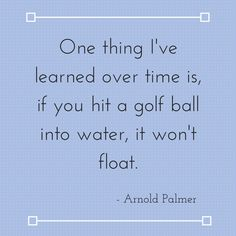 Arnold Palmer Quotes Fascinating Golf Swing Test  How Good Is Your Swing  Arnold Palmer Golf And
