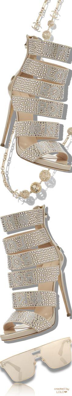Philipp Plein Sandals | Chanel Necklace | Dior Sunglasses #chanel #phillipplein #dior