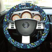 vera bradley steering wheel cover