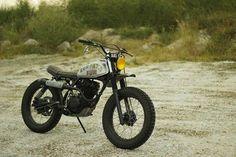 Honda XL125 Scrambler by Kemeh Fabrications #motorcycles #scrambler #motos | caferacerpasion.com