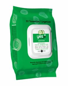 Yes to Cucumbers Facial Towelettes £4.99