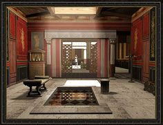 Stage One CLC Digital reconstruction of a Roman Domus´s Atrium