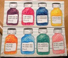 Pills - - muchas más ideas para tu #farmacia en http://pinterest.com/farmagestion/escaparates-y-paqueter%C3%ADa-farmacia/