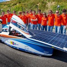 TU Delft, The Netherlands, Wins Solar Powered Car Race