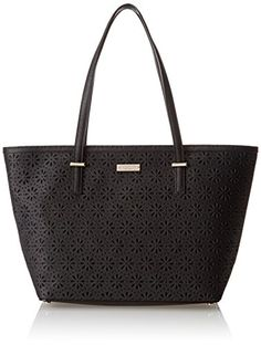 kate spade new york Cedar Street Perforated Small Harmony Shoulder Bag Black �