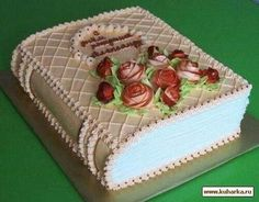 New Birthday Cake Ideas Ideas Birthday Cake Writing, New Birthday Cake, Cake Decorating Techniques, Cake Decorating Tips, Cake Icing, Cupcake Cakes, Buttercream Frosting, Bible Cake, Decoration Patisserie