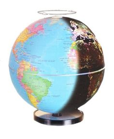 Fascinations City Lights inches  Geographical Globe by Fascinations $34.99 http://www.amazon.com/dp/B002LYYUXQ/ref=cm_sw_r_pi_dp_O5Morb11B7BW7