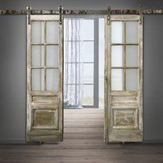 Drewniane drzwi przesuwne na wymiar