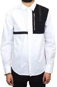 KITE The Combat LS Buttondown Shirt in White