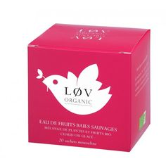 Organic Tea by Lov Organic: green tea, black tea or flavoured tea. Do not hesitate any more, buy our organic Chai Tee, Fruit Bio, Cocktails, Drinks, Berries, Organic, Products, Fruit Tea, Apple Cinnamon