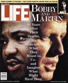 Original Life Magazine from April 1993 - Martin Luther King and Robert F. Life Magazine, Cool Magazine, Magazine Covers, Black Magazine, John Kennedy, King Robert, Life Cover, Greatest Presidents, Tv Guide