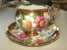 Royal Ardalt Bone China CUP AND Saucer Made IN England | eBay