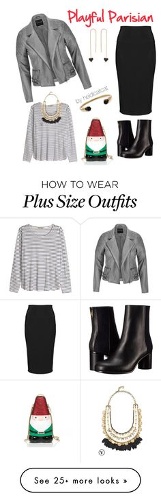 """""""Playful Parisian"""" by heidicatcat on Polyvore featuring maurices, Paul Smith, Yoek, H&M, Kate Spade, Stella & Dot, Amorium and Lola Rose"""