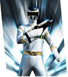 Silver Space Ranger - Zhane