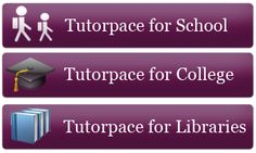 Tutor Pace is Online Tutors portal, offering Tutoring Online with an expert tutors on various subject. Get Homework helps for K-12 and college students. Chat now for Math, English, Science and Test Prep. Expert online tutors for Algebra, English, Science and Test Prep. visit www.tutorpace.com