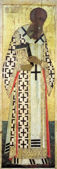 Andrei Rublev ~ Gregory the Theologian, 1408