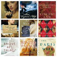 9 historical fiction novels.