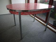 retro 1960s vintage laminex table ebay - Kitchen Tables Ebay