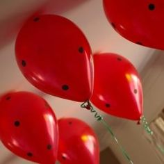 Ladybug garden party ideas/inspiration ~ Party Frosting