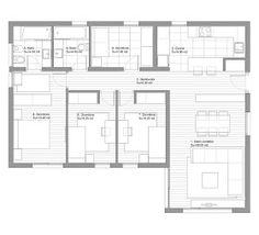 Casa moderna 4 quartos