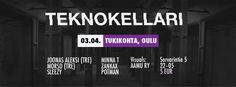 Flyer / Cover page picture for Teknokellari #2