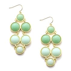 Mint Dangle Earrings $4.99