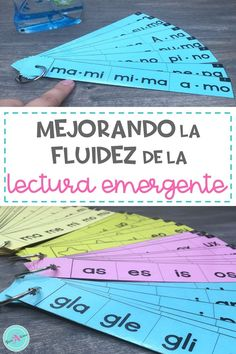 Fluency in Spanish starts by decoding syllables, then reading 2-syllable words. These fluency strips help students improve their early reading skills in kindergarten and first grade. Ideal for independent practice or partner reading.