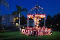 gorgeous over-the-top table by Avant Garde