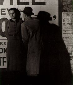 Bill Brandt, Street Scene, c. 1940