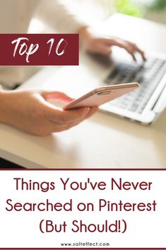 You've probably used Pinterest to search for recipes, home decor and birthday themes, but we think you should create some new Pinterest boards based on these 10 search ideas!