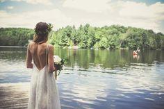 Earthy Outdoor Ceremony { Wedding Inspiration}