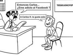 Fotos graciosas para facebook: Adicto al facebook