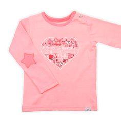 Babymode Jayda Born To Be Famous shirtje | cute pink | www.kienk.nl
