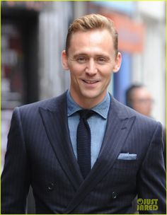 tom hiddleston wears a suit better than anyone else 04 Tom Hiddleston flashes his electric smile while stepping out on Thursday afternoon (September 3) in the Soho neighborhood of London, England.    The 34-year-old…