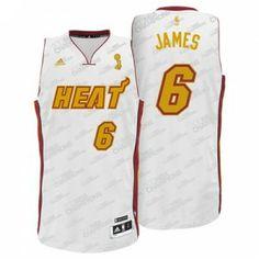 Camiseta Miami Heat - James www.basket3c.com 6a9e2a5d757