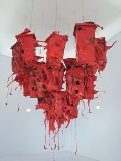 installation art, by Anita Molinero, Untitled, 2005