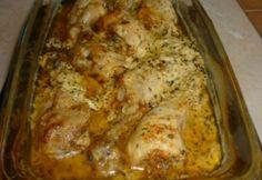 Mascarponés-bazsalikomos csirkecomb Hungarian Recipes, Hungarian Food, Jamie Oliver, Lasagna, Food And Drink, Meat, Chicken, Ethnic Recipes, Comb