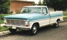 1967 Ford Truck from Wikipedia: think this is what my female character will drive..not as cool as a '50's truck, but still cool.