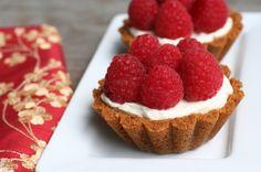 #Raspberry Mascarpone Tartlets from www.foodonthefood.com #dessert #food