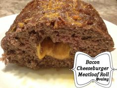 Bacon Cheeseburger #Meatloaf Roll Recipe