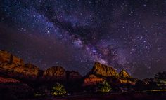 Milky Way Over Zion by Khushbu Soni on 500px