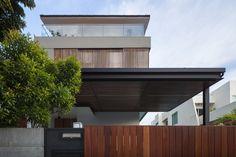 87DCH-House par ONG&ONG - Bukit Timah, Singapour. Rénovation d'une maison urbaine en résidence contemporaine à Singapour