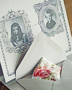 Tucked Away Tissues #wedding programs