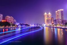 Love River in Kaohsiung Taiwan by albertchenphotography. @go4fotos